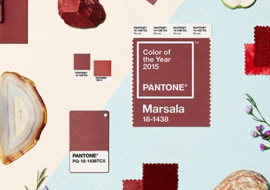 Die Pantone-Farbe des Jahres 2015: Marsala