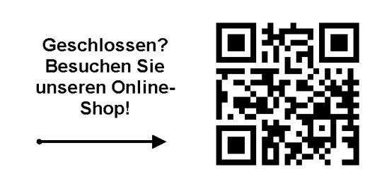 Online-Shop Schild
