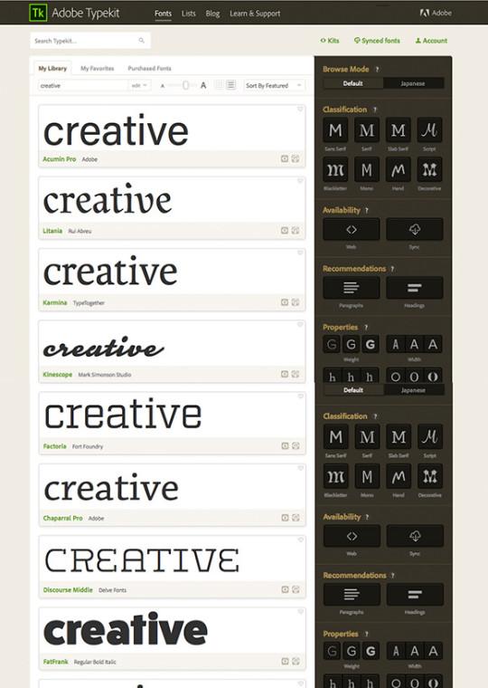 Einfaches Suchen von Bildern, Grafiken und Schriften